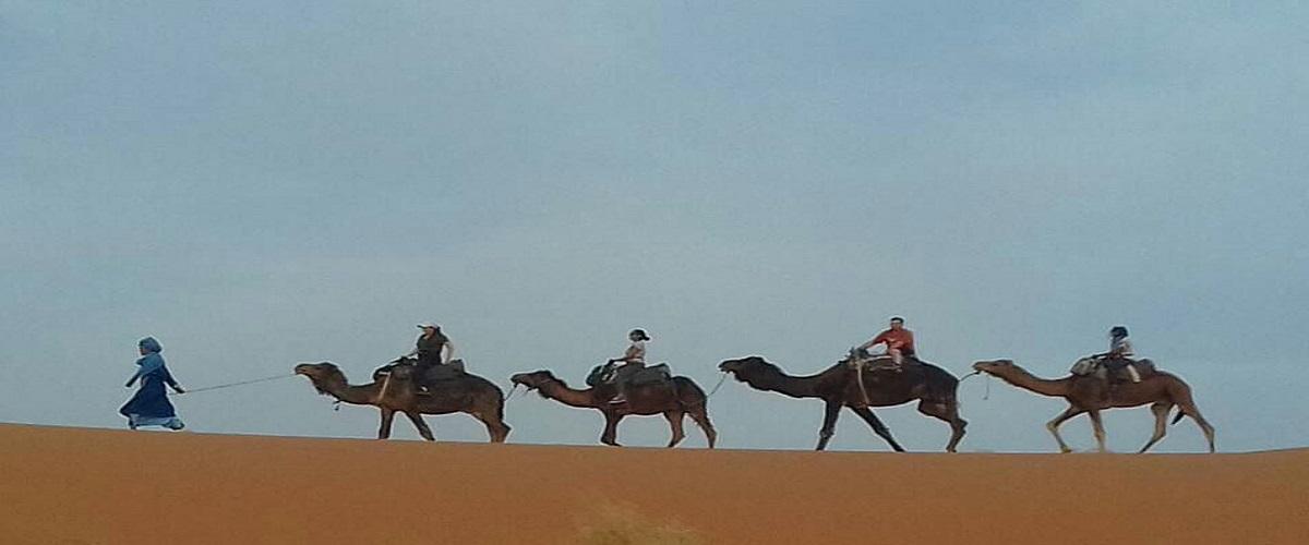 Morocco Camel Trekking Fes Desert 4 Days
